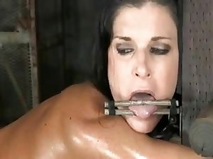mature pornstar tied up and fucked hard