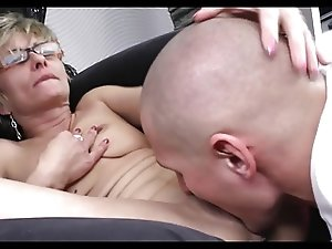 Horny Mature Great Body With Younger Boy