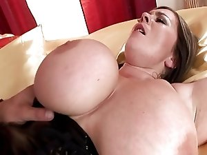 Huge-Boobs-Milf hard fucked HQ