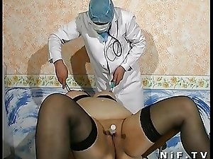 Fat french mature anal fisted sodomized and facialized
