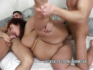 Fat Slut Calls Two Young Escort Boys