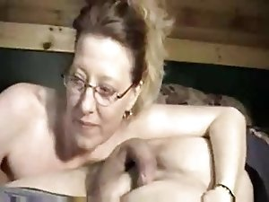 Housewife amazing Blowjob on  neighbor