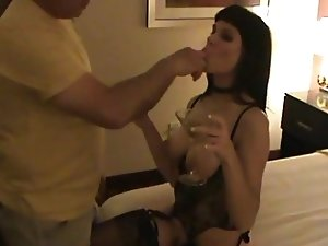 Hot Slut Wife Sucks, Fucks and Rims Ass