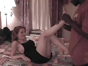 Mature White wife gets boned really hard by BBC